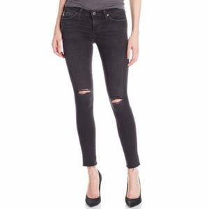 AG The Legging Ankle Super Skinny Distressed Jeans